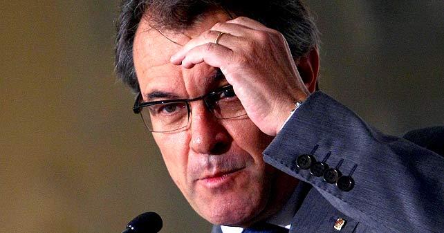 Mas anhela un Estado catalán sin ejército y que no tiene por qué ser una república