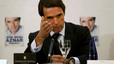 José María Aznar, el lunes, durante la presentación de su libro de memorias.