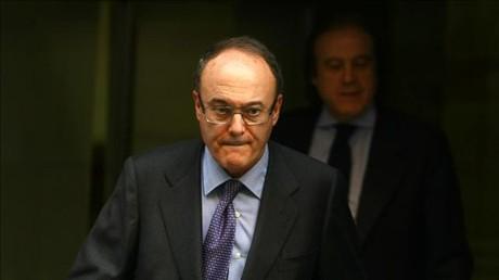 Luis María Linde, governador del Banc d'Espanya.