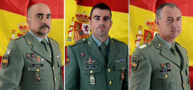 Antonio Navarro Garca, Jos Francisco Prieto Gonzlez y Manuel Velasco Romn. 