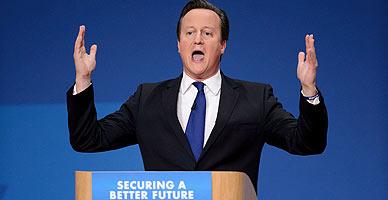 Cameron entra en campa�a y promete menos impuestos para 30 millones de brit�nicos