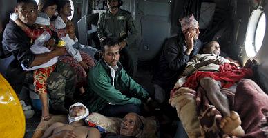 Nepal suma muerte y desespero entre el caos