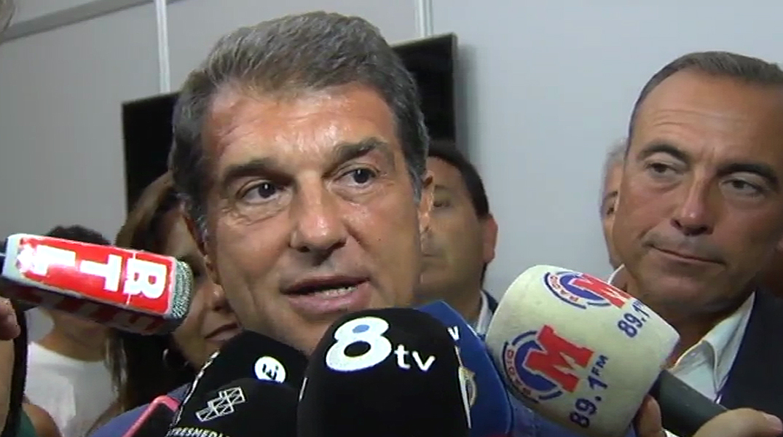 Laporta: Hem intentat evitar que el club tingués un president processat