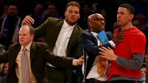 Blake Griffin, durante un encuentro ante los New York Knicks