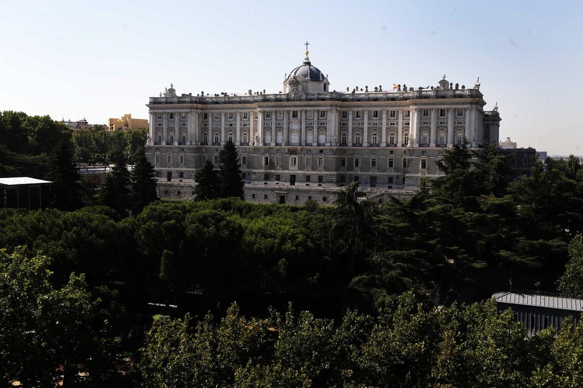El Palacio Real de Madrid, o palacio de Oriente, uno de los inmuebles gestionados por Patrimonio Nacional.