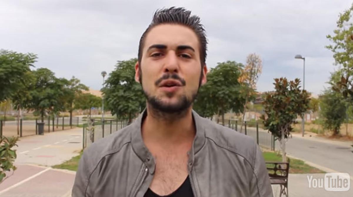 El youtuber Álvaro Reyes, en una captura de uno de sus vídeos, colgado en su canal de Youtube.