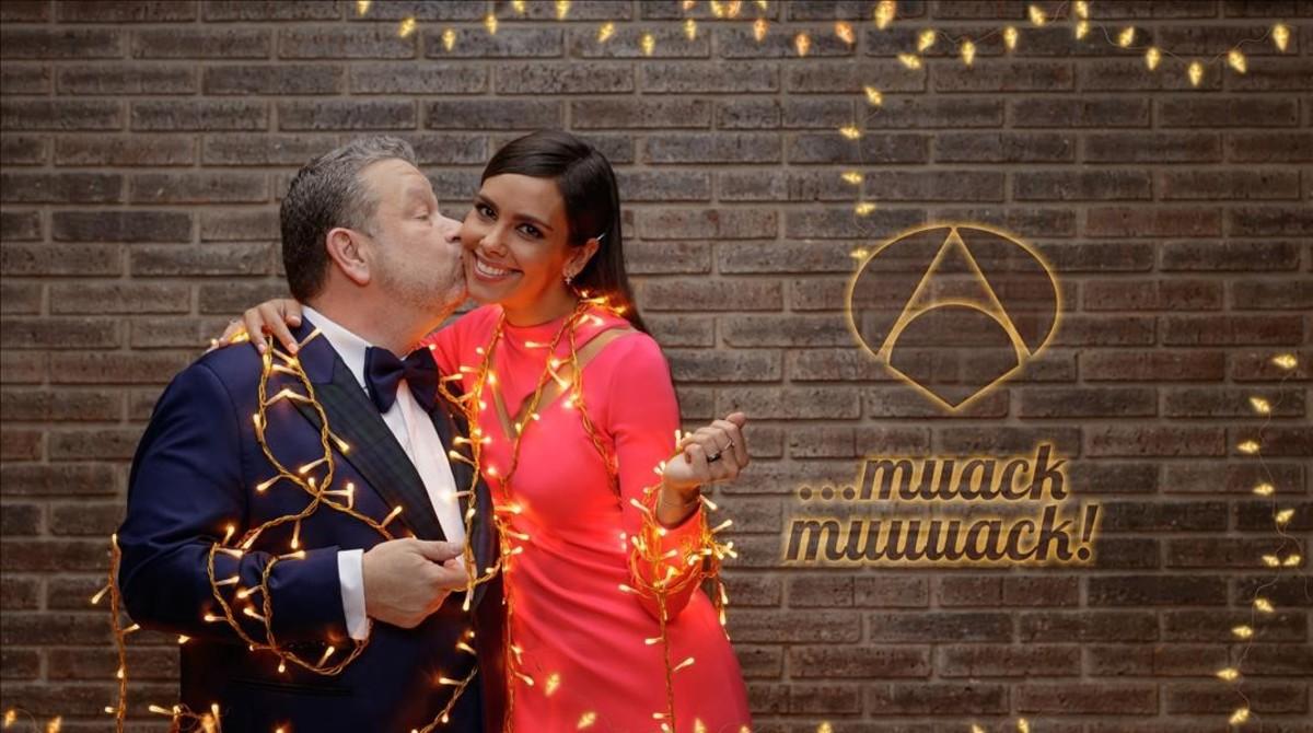Alberto Chicote y Cristina Pedroche dan las campanadas en Antena 3