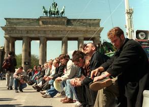 Protesta en Berlín por las condiciones laborales.