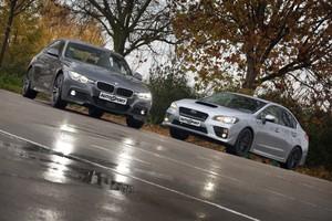 Subaru WRX STi vs BMW 340i xDrive: poderío total