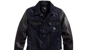 Cazadora de piel negra, Harley-Davidson