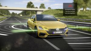 Sistemas de radar del nuevo Volkswagen Arteon.