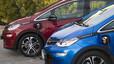 Opel Ampera-e recargando