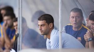 Gerard López, entrenador del Barça B.
