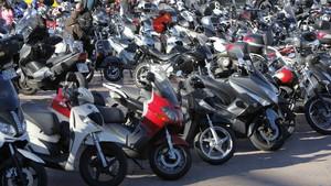 Las matriculaciones de motocicletas caen