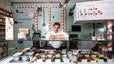 Jordi Roca, en su heladería