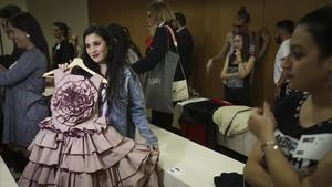 El casting de Maestros de la costura en Barcelona