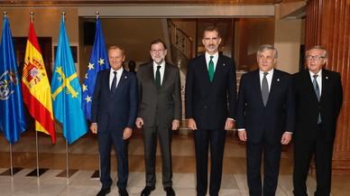 Europa mostra el seu suport al Rei i a Rajoy en els premis Princesa d'Astúries