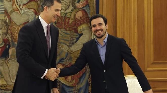 El Rei rep UPN, Garzón i el PNB en la segona ronda de contactes