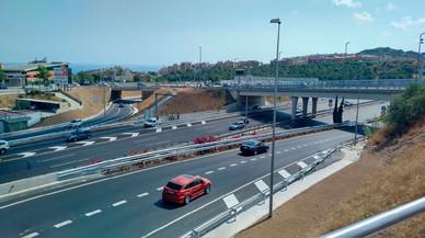 Entren en servei els nous enllaços de l'autopista C-32 cap a Mataró