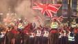 Independentistes i unionistes s'enfronten a Glasgow després del rebuig a la independència d'Escòcia