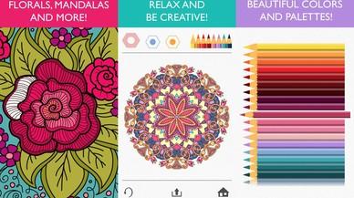 La aplicaci�n Colorfy.