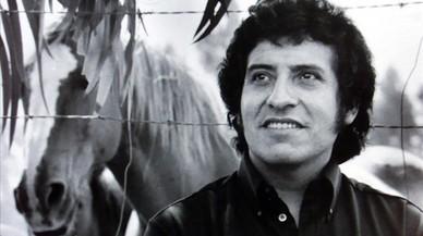 El cantautor chileno V�ctor Jara.