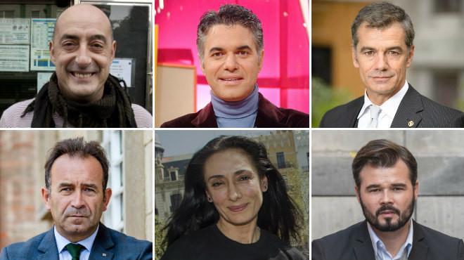 Famosos al poder: les llistes electorals més mediàtiques