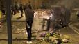 Los Mossos piden siete años de cárcel para cuatro manifestantes de Can Vies por herir a un agente