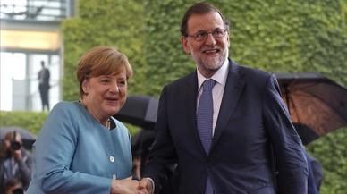 Merkel rep l'encàrrec europeu de plantar cara a Trump en el G-20