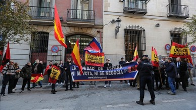 Uns cinquanta ultres escridassen Mas a Madrid