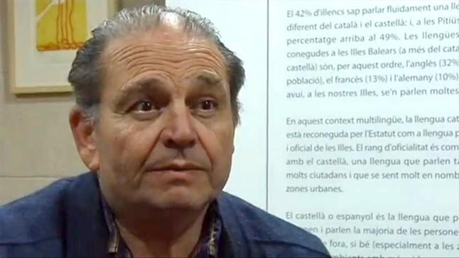 """El jubilat balear en vaga de fam per la llengua catalana diu que la protesta és """"indefinida"""""""