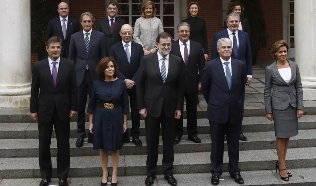 El uno x uno futbol stico del gobierno espa ol for Ministros del gobierno