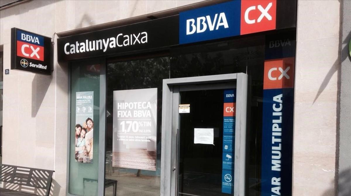 Bbva y catalunyacaixa culminan su integraci n for Oficines catalunya caixa