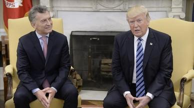 """Trump y Macri exhiben sintonía como """"amigos de muchos años"""""""