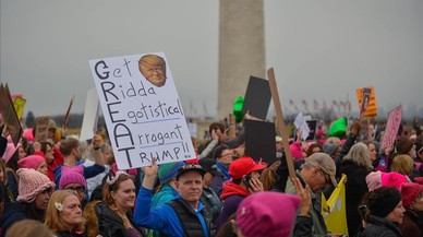 Protestes sense precedents contra Trump