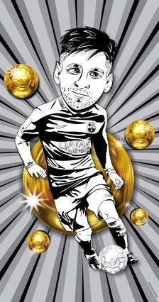 El oro es de Messi
