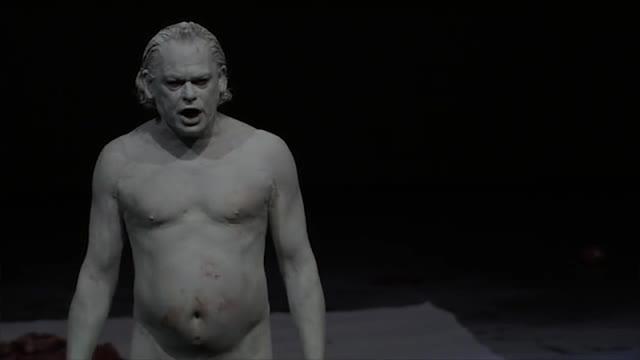 """Mount Olympus. To glorify the cult of tragedy"", una obra de teatro con sexo explícito."