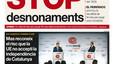 """""""Stop desnonaments"""", a la portada d'EL PERIÓDICO DE CATALUNYA"""