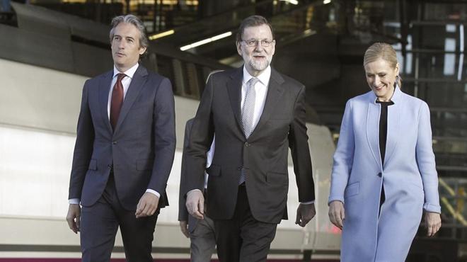 Rajoy anuncia 1.300 millones de inversión para el AVE.