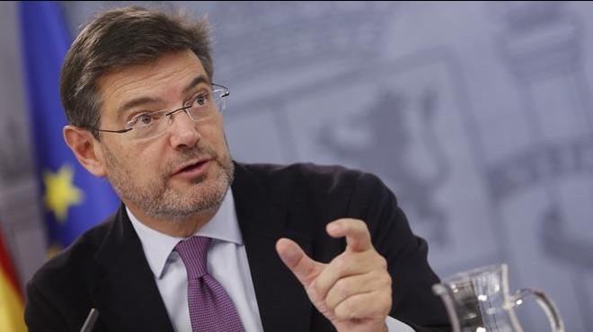 """El ministre Catalá: """"Podem té proximitat amb el moviment terrorista etarra"""""""