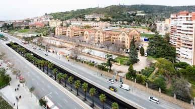 Afectacions al trànsit per la cobertura de la ronda de Dalt a la Vall d'Hebron