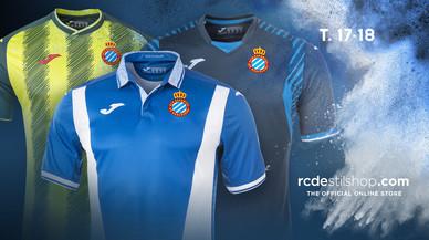 Enrenou a les xarxes per les noves samarretes de l'Espanyol