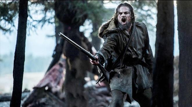 Leonardo DiCaprio, en una imagen de 'El renacido'.