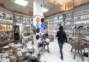 DE TODO UN POCOInterior de La Moderna Singular, donde se pueden encontrar multitud de objetos 'vintage'.