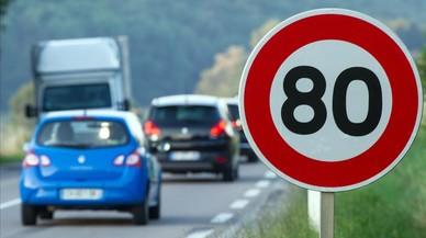 Francia limita a 80 km/h la velocidad en las carreteras secundarias