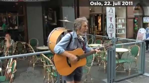 Vídeo del momento de la explosión en Oslo