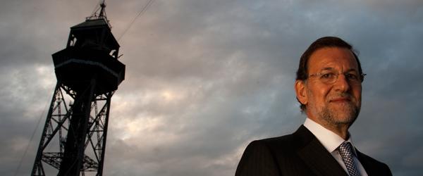 Enric Hernàndez, director de El Periódico de Catalunya, entrevista al candidato del PP a la Presidencia del Gobierno.