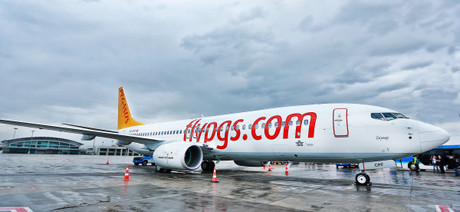 Un avi� de Pegasus Airlines.