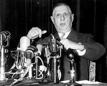 El general Charles de Gaulle.