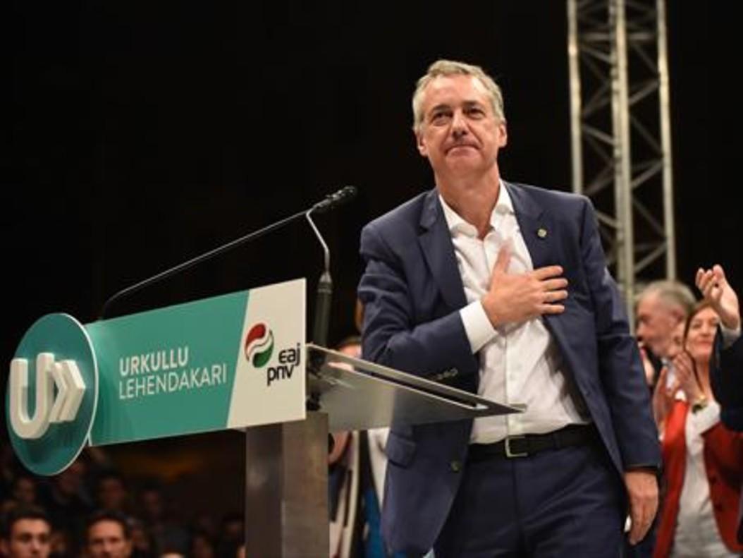 Íñigo Urkullu, en la campaña.